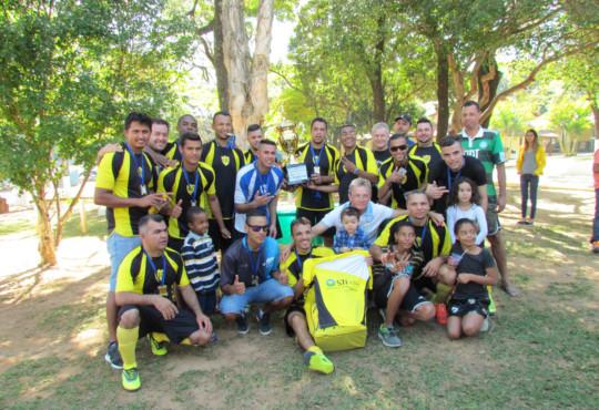 Final do 10º Campeonato de Futebol Society