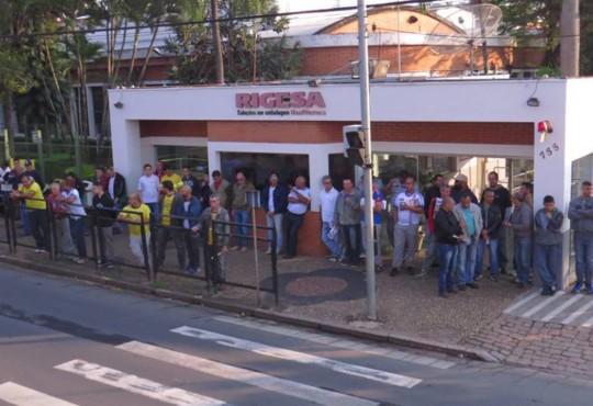 Sindicato Papel de Valinhos e Federação, mobilizam trabalhadores