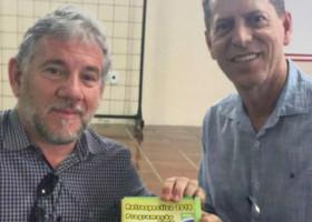 Presidente Betinho participa de debate no Sindicato dos Trabalhadores da Alimentação de Limeira