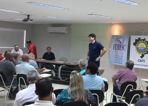 Betinho participa de reunião para avaliação dos resultados das negociações salariais