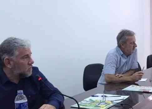 """Betinho reuniu nessa manhã todos os sindicatos papeleiros do Estado de São Paulo/Mato Grosso do Sul, para mobilização contra as reformas trabalhistas e previdenciárias. """"UNIDOS SOMOS FORTES"""""""