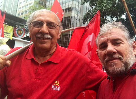 Betinho participa de mobilização na Avenida Paulista