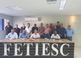 Betinho participou de importante evento reunindo Federações e Sindicatos