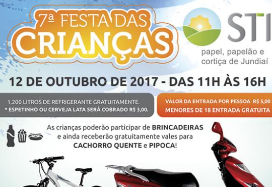 Vem aí a 7ª FESTA DAS CRIANÇAS