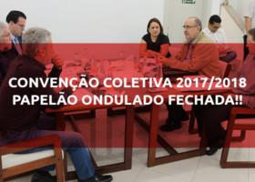 Convenção Coletiva Papelão Ondulado Fechada!
