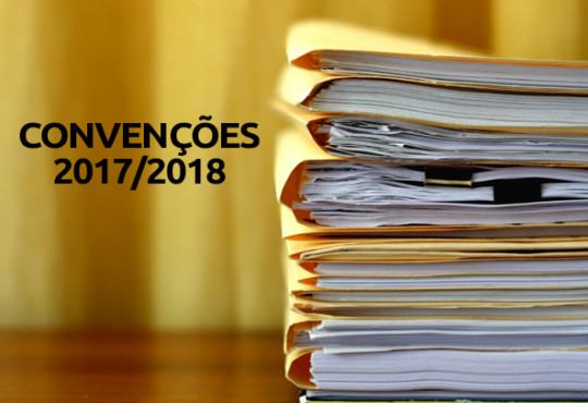 Convenções 2017/2018