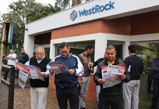 Paralisação na Rigesa/WestRock – Valinhos