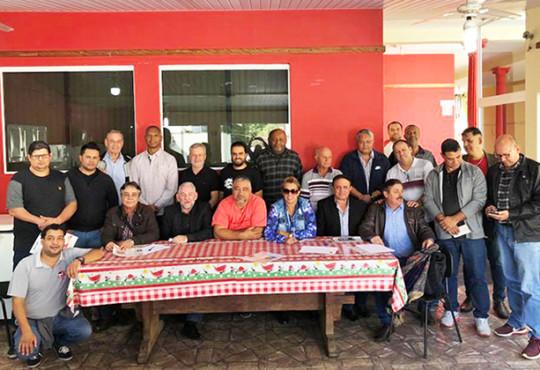 Reunião entre a Federação Papeleira SP/MS e Sindicatos filiado da CUT